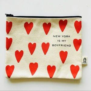 "Pamela Barsky ""NY is my Boyfriend"" Pouch"